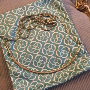 Kendra Scott Gold Scotty Necklace